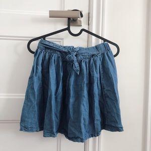 Girls Tie Skirt